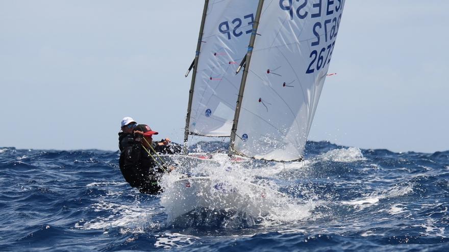 El Trofeo Optimist de 30 de mayo Día de Canarias se reparte entre las islas