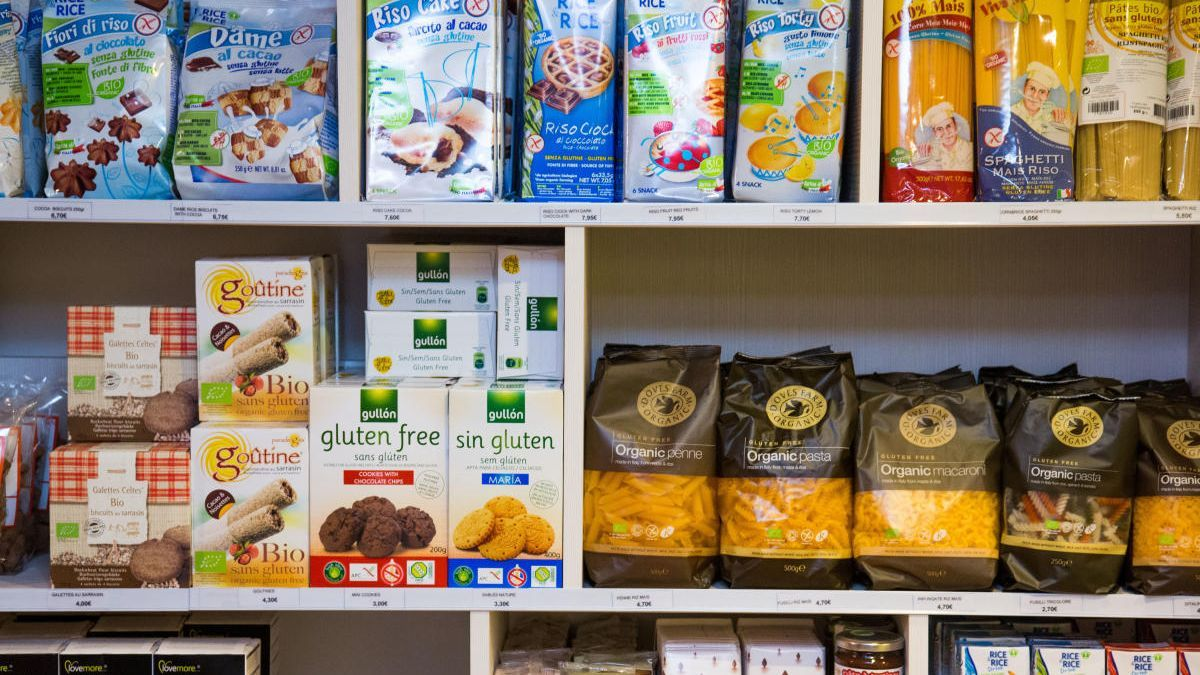 Los productos sin gluten, cada vez más extendidos.