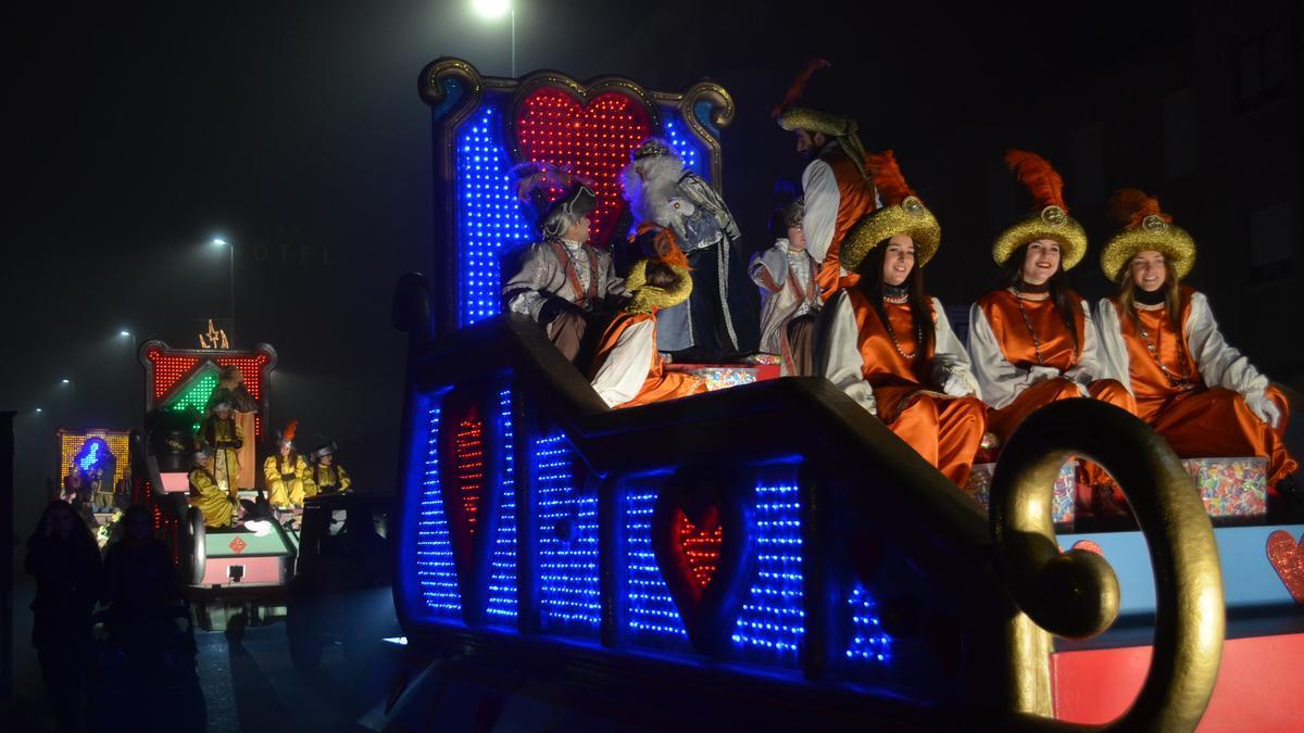 Cabalgata de Reyes de este año en Benavente. / E. P.