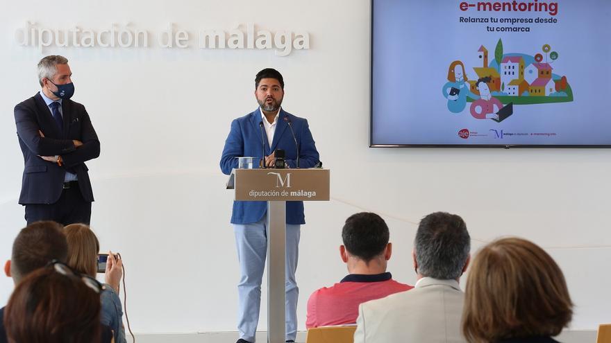 AJE Málaga y Diputación lanzan un plan de mentorización online y gratuito para jóvenes empresas
