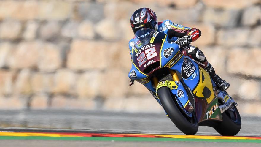 Lowes arrebata la pole de Moto2 a Di Giannantonio