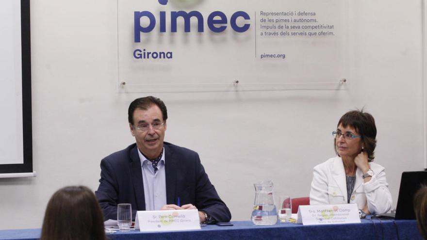 Pimec referma la confiança en Pere Cornellà com a president de la patronal a Girona