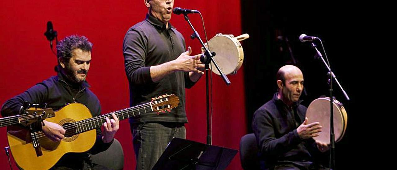 Pep Gimeno «Botifarra» en una actuación en el Echegaray | PERALES IBORRA