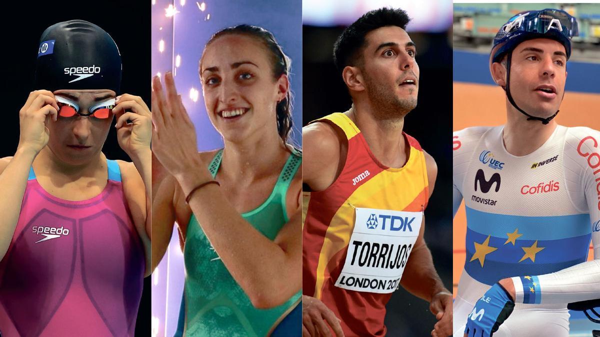 Edo, Muñoz, Torrijos y Mora irán a los Juegos de Tokio