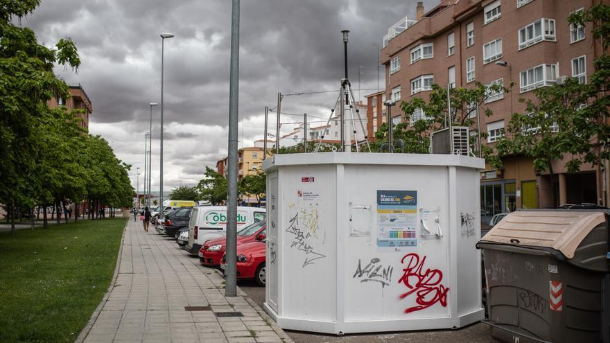 Ecologistas en Acción asegura que la estación de medición del aire en Zamora no da resultados fiables