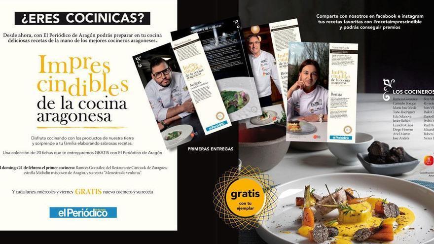 Empieza la colección 'Imprescindibles de la cocina aragonesa'