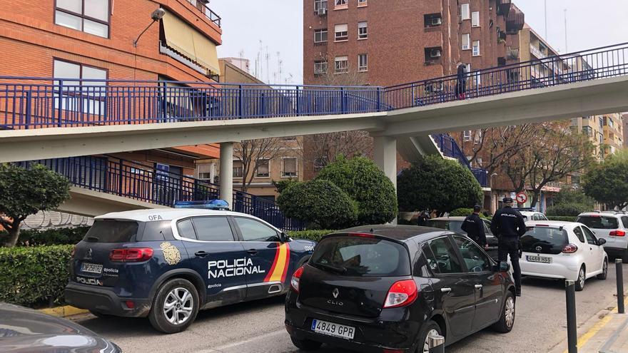 Controles policiales en València por la Semana Santa