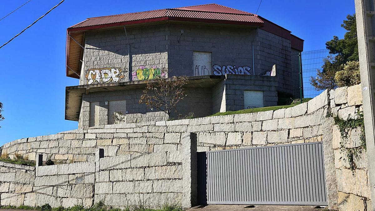 El centro cultural de Monteferro que se quedará en una sola planta y una altura de 5 metros. |   // RICARDO GROBAS