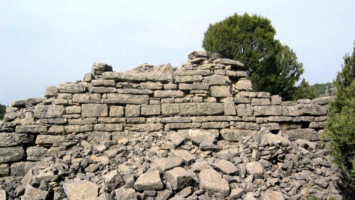Ruinas del castillo de Sesga