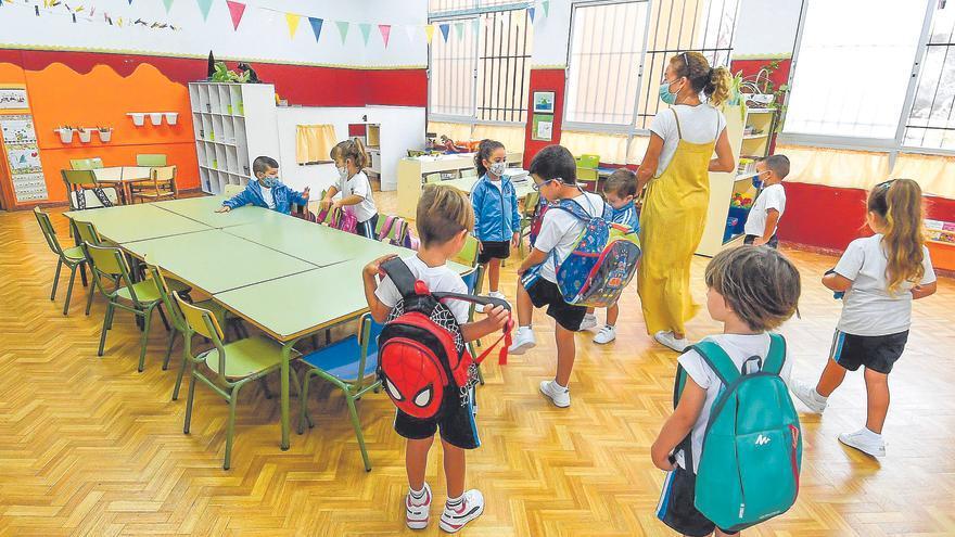 Los colegios resisten los repuntes de la pandemia con solo el 0,3% de casos en las aulas