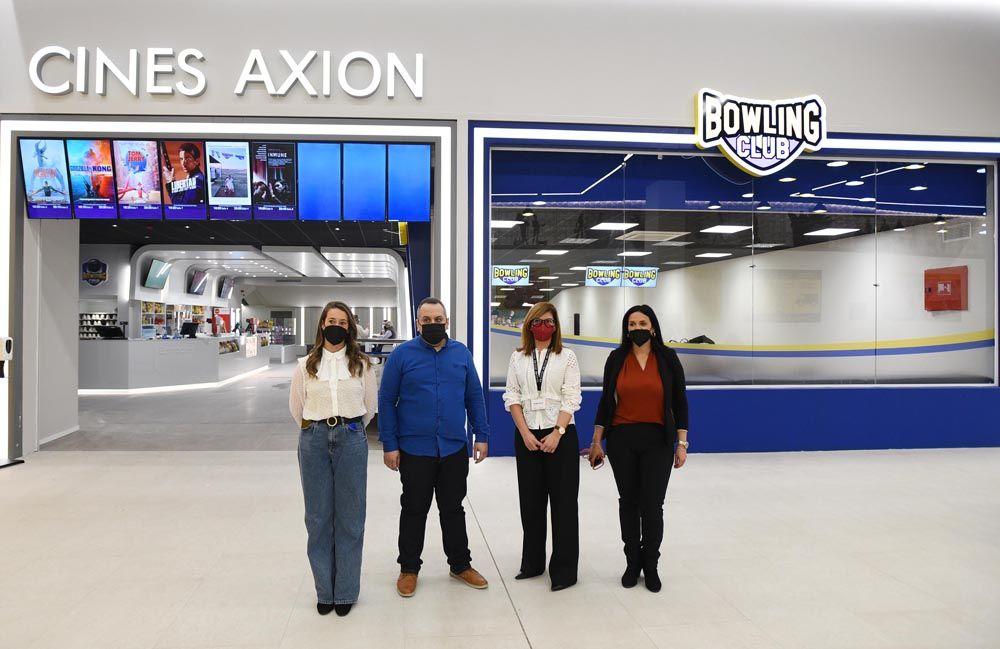 Abren los nuevos cines Axion en Córdoba