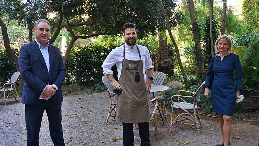 Andreu Benítez presenta «el 'lunch' más saludable»