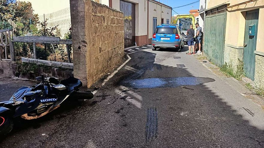 Un accidente de circulación provoca tres muertos en una vía urbana de La Orotava
