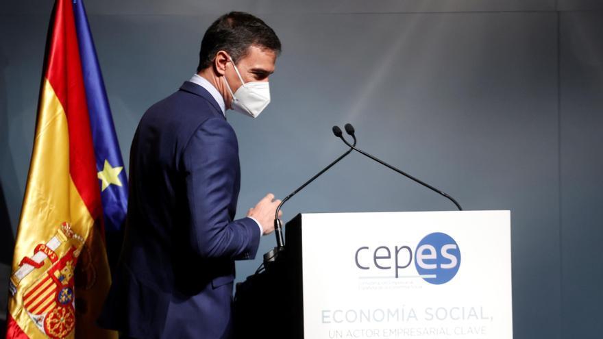 """Sánchez: """"Esta emergencia acabará mucho más pronto de lo que habíamos pensado gracias a la vacunación"""""""