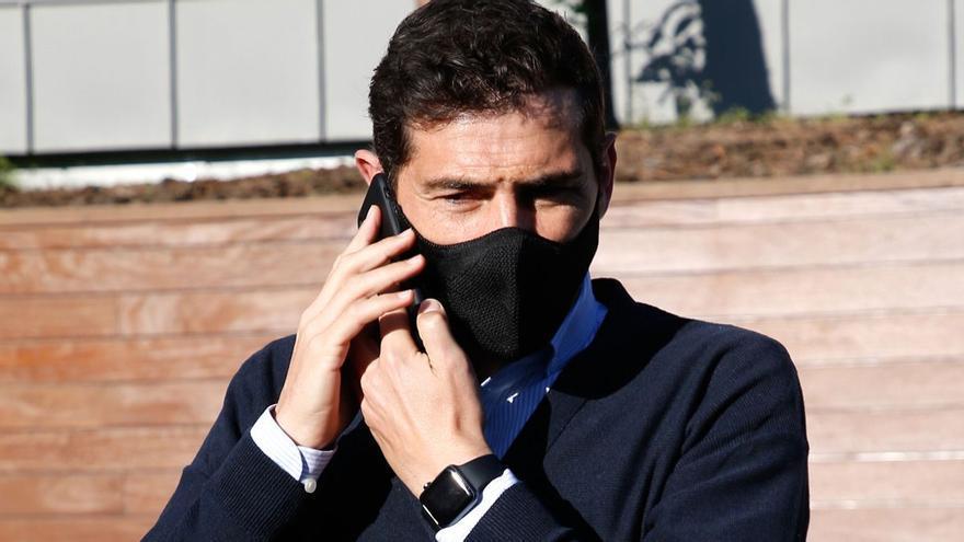"""Iker Casillas responde sobre su presunta infidelidad a Sara Carbonero: """"Todos los padres viendo esto"""""""