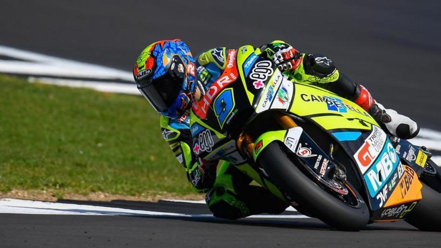 Navarro pierde en las últimas curvas su primer triunfo en Moto2