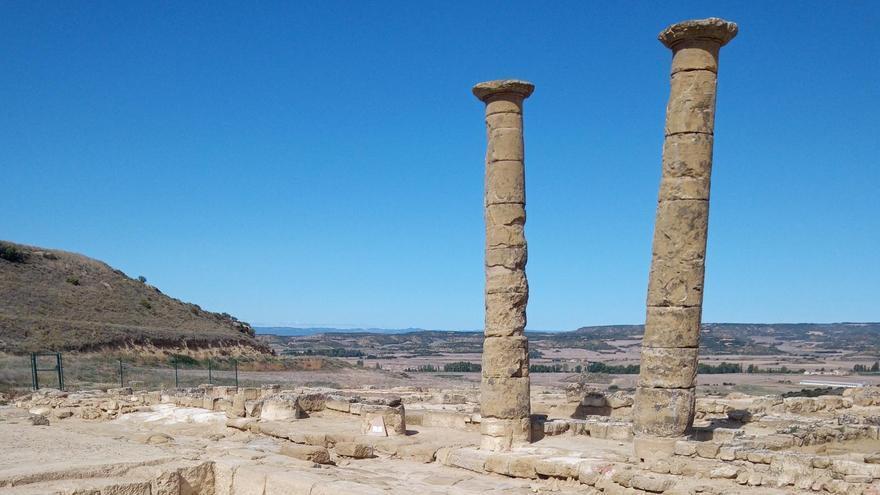 Encontrados nuevos fragmentos arqueológicos en el yacimiento romano de Los Bañales