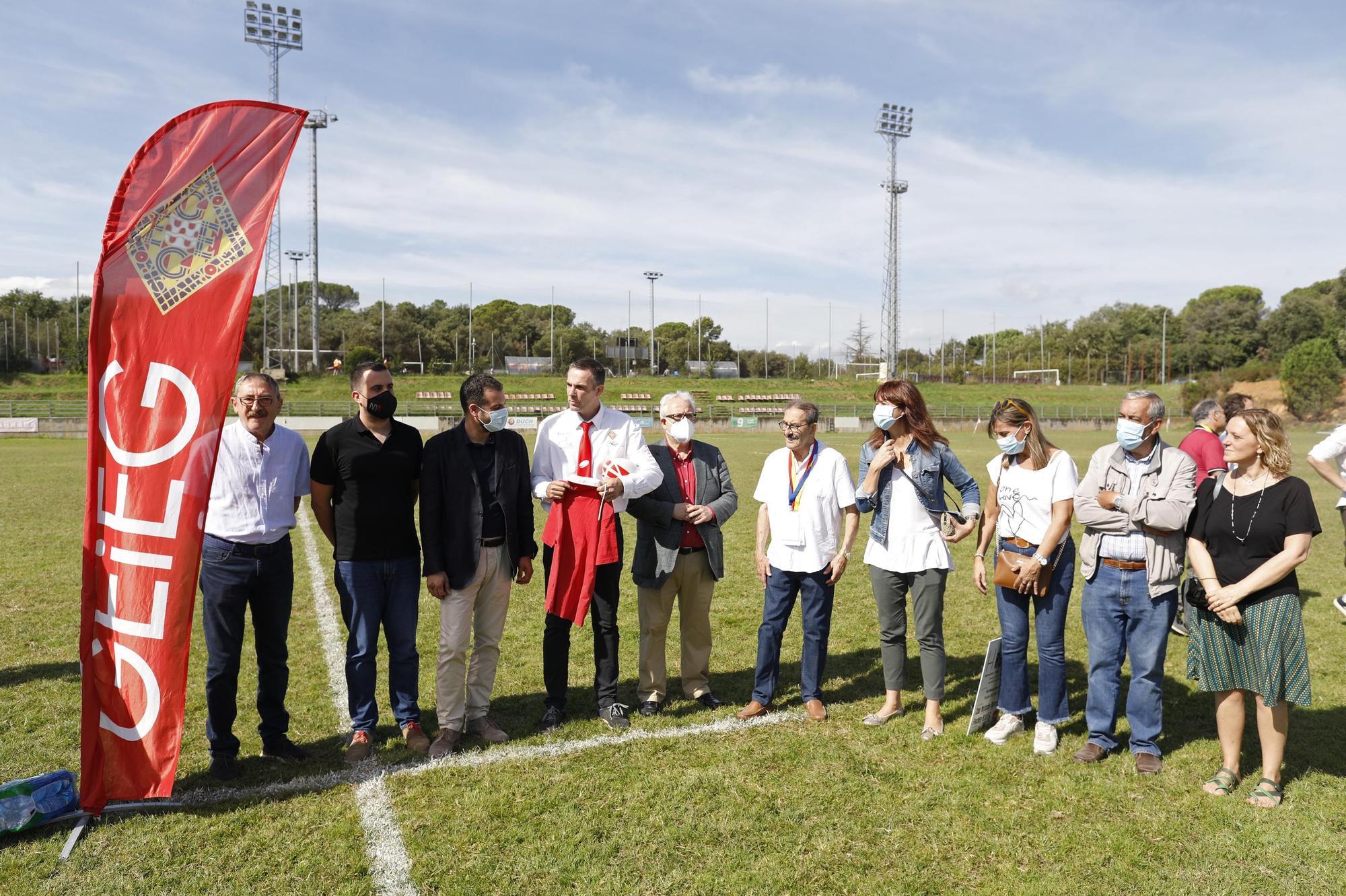 Mig segle del primer partit de rugbi a Girona