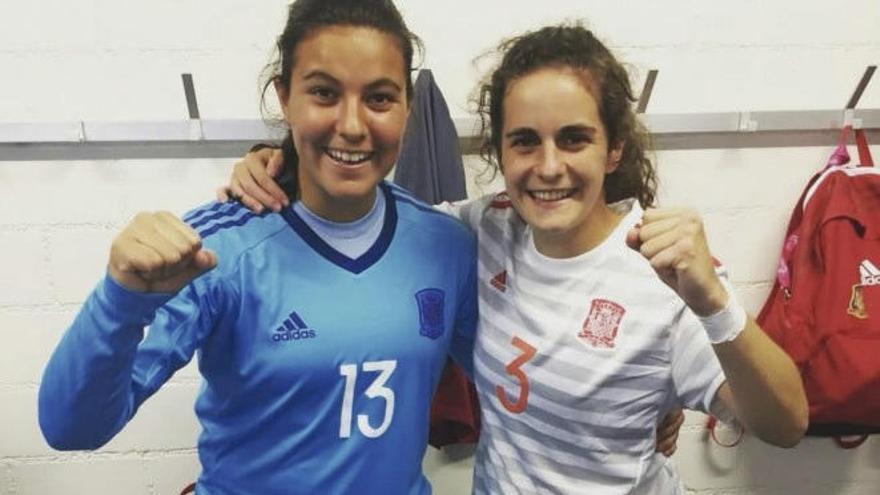 El luso Pedro juega la final del Europeo sub 19, y Tere y Malena lo harán mañana