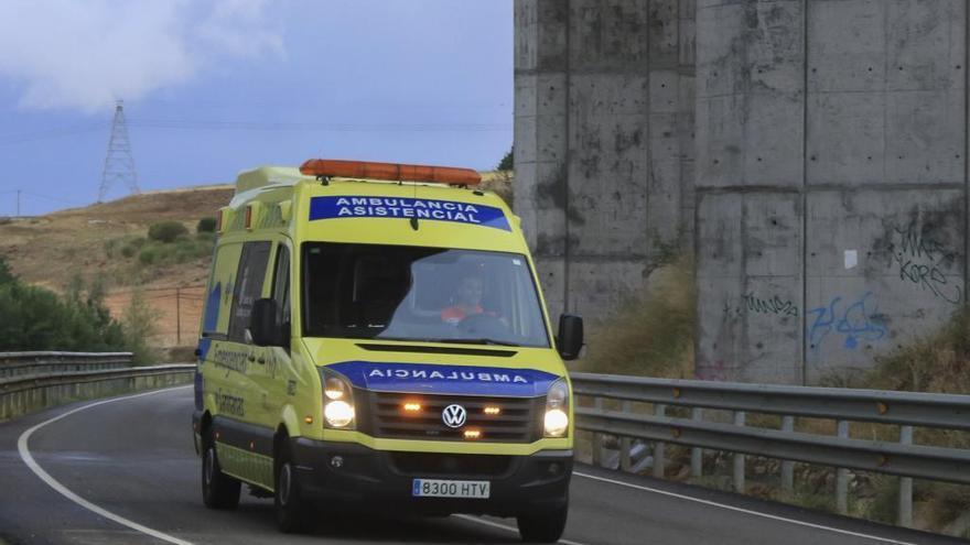 Fallece un motorista en Moral de Sayago en un accidente