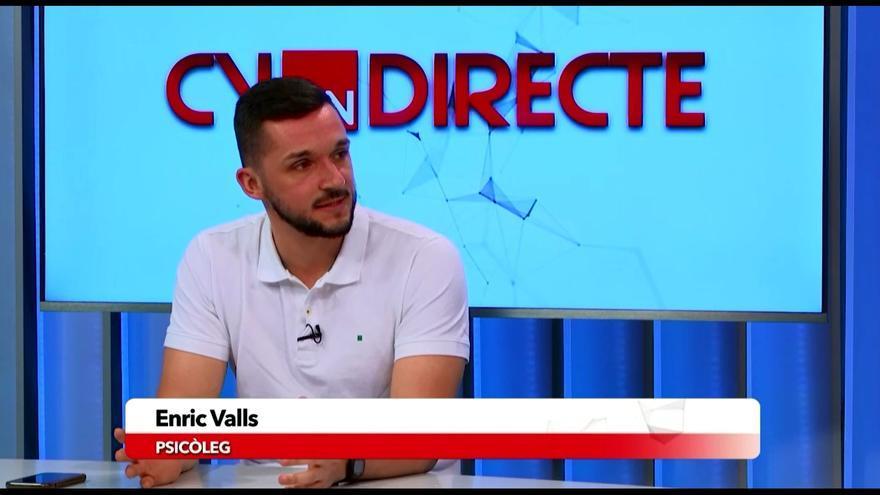 El psicólogo Enric Valls ayuda a los castellonenses a combatir la ansiedad