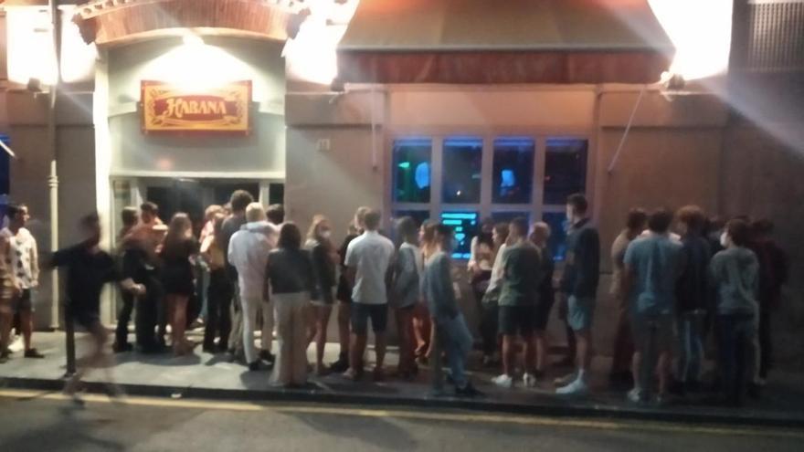 El pub La Habana de Gijón no fue desalojado