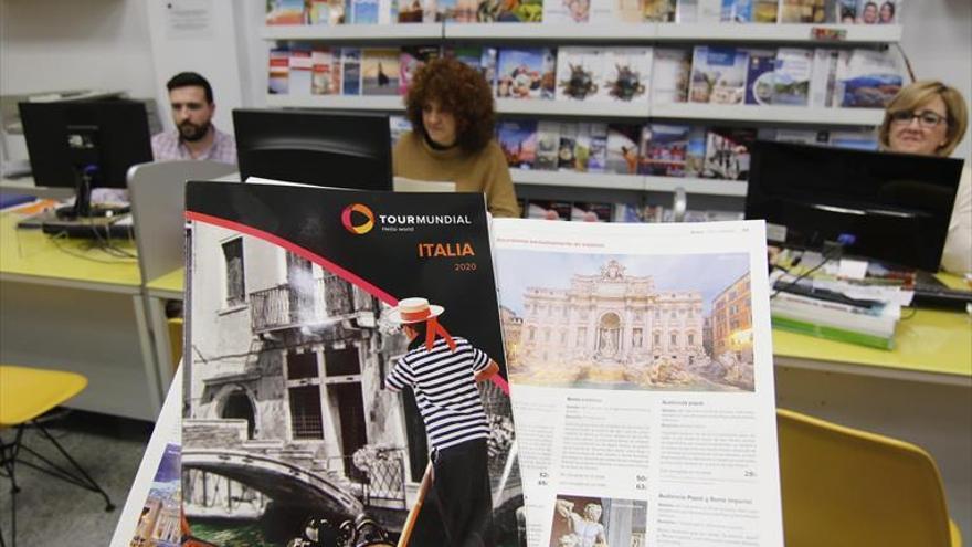Las agencias temen que el 90% de los viajes a Italia sean cancelados