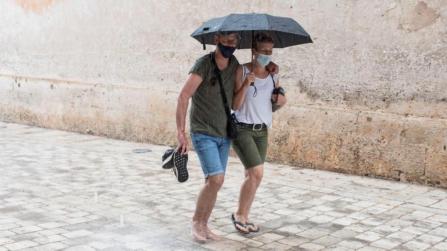El tiempo en Aragón: Nuboso con chubascos y posibles tormentas