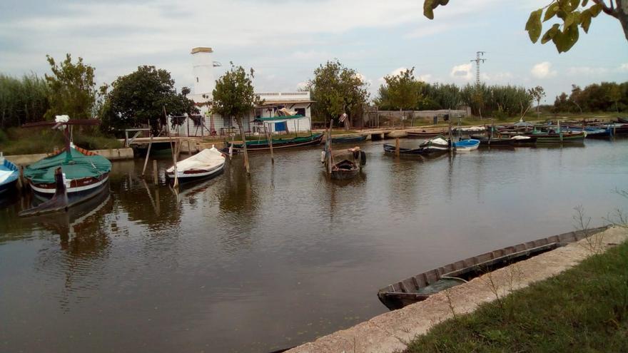 Los excedentes de las lluvias permiten reforzar los aportes hídricos a l'Albufera