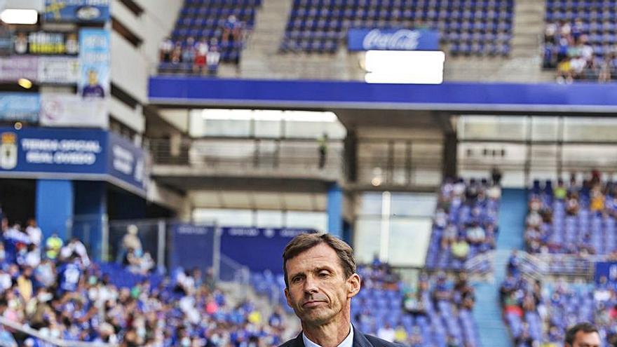 El Oviedo, a por tres triunfos seguidos un año después: posible once en Ibiza