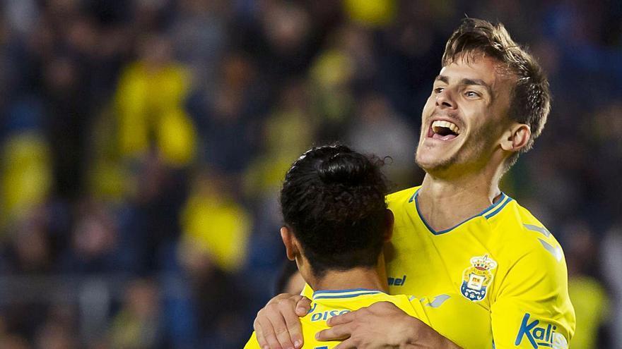 Curbelo, cerca de renovar su contrato con la UD Las Palmas