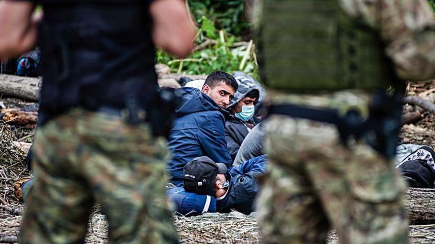 La UE sancionarà Bielorússia per utilitzar la migració com a arma