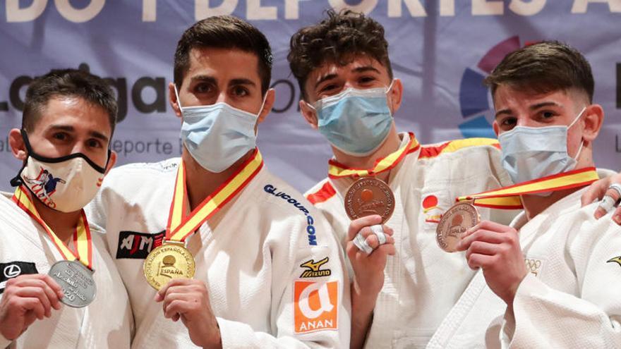 El judo valenciano destaca en el Campeonato de España
