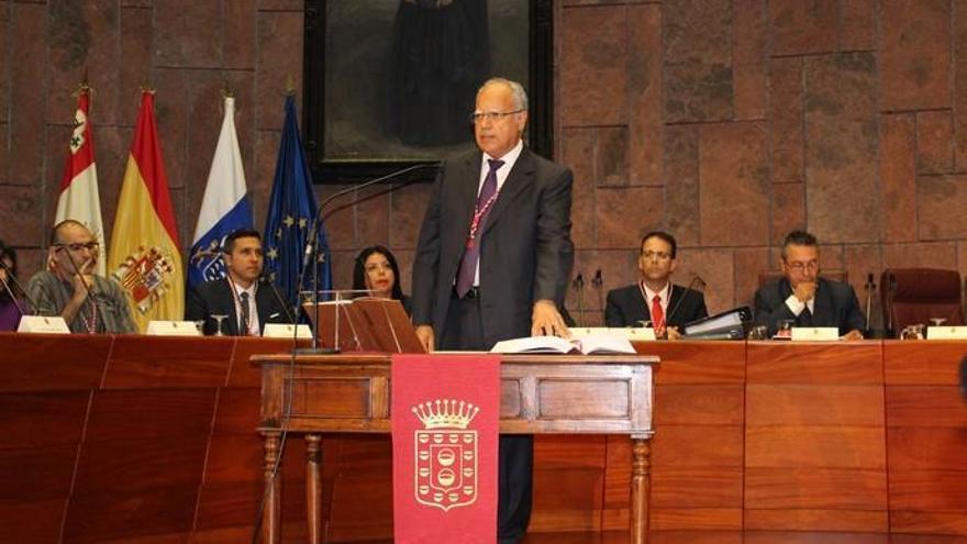 Casimiro Curbelo, ocho veces presidente del Cabildo de La Gomera