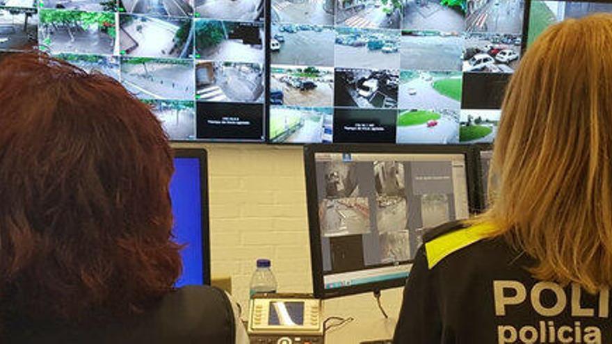 Salt instal·la cinc noves càmeres de videovigilància