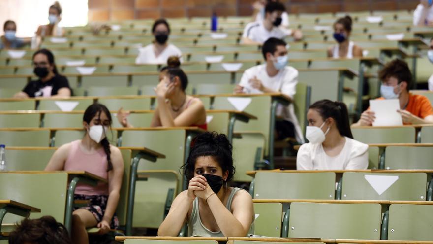 El 97,88% del estudiantado de Bachillerato supera con éxito la Evaluación para el Acceso a la Universidad