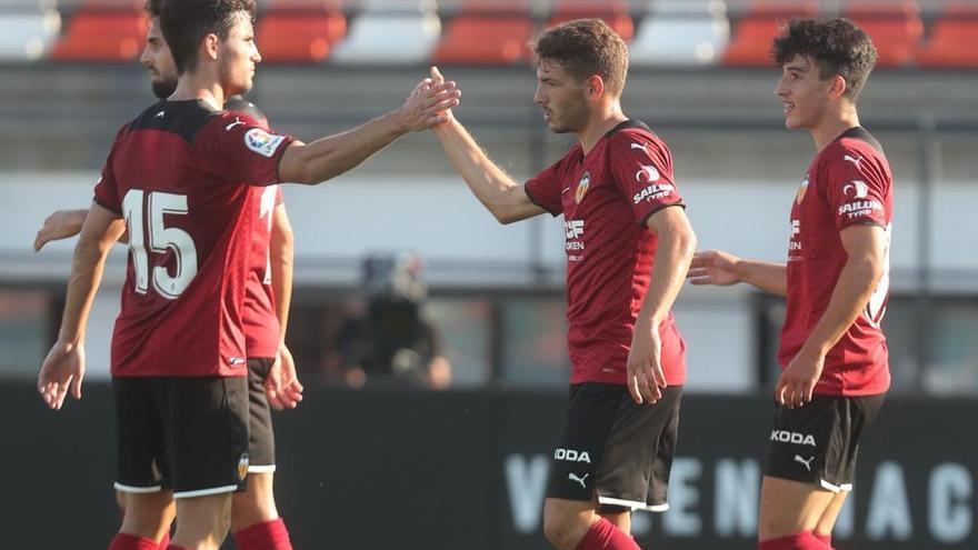 Los goles del Valencia contra el Atromitos