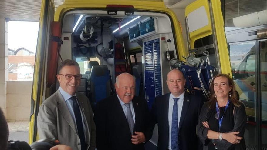 Antequera dispone ya de una segunda ambulancia