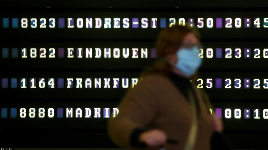Los aeropuertos valencianos hicieron 136 test de antígenos y solo 3 dieron positivo