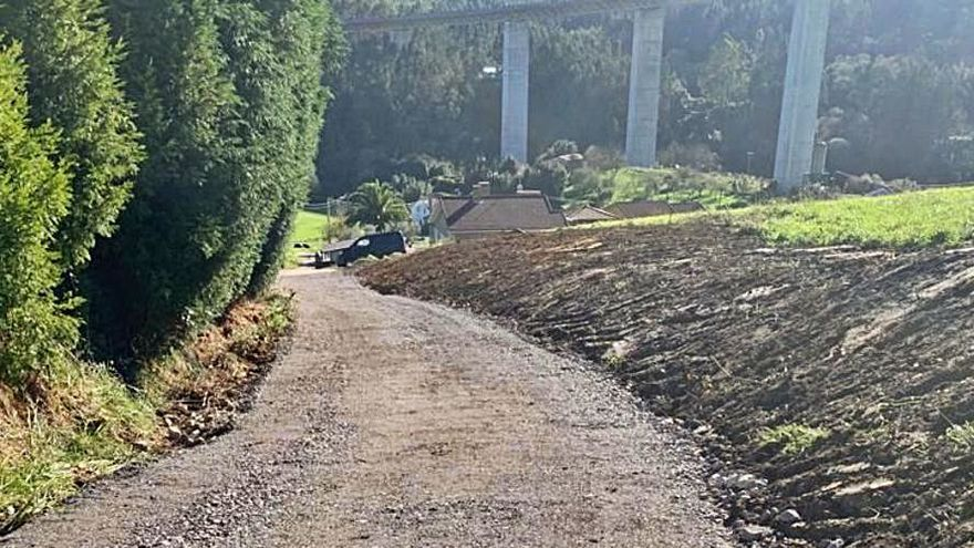 La recuperación de un camino permite unir Cuenza con El Cueplo
