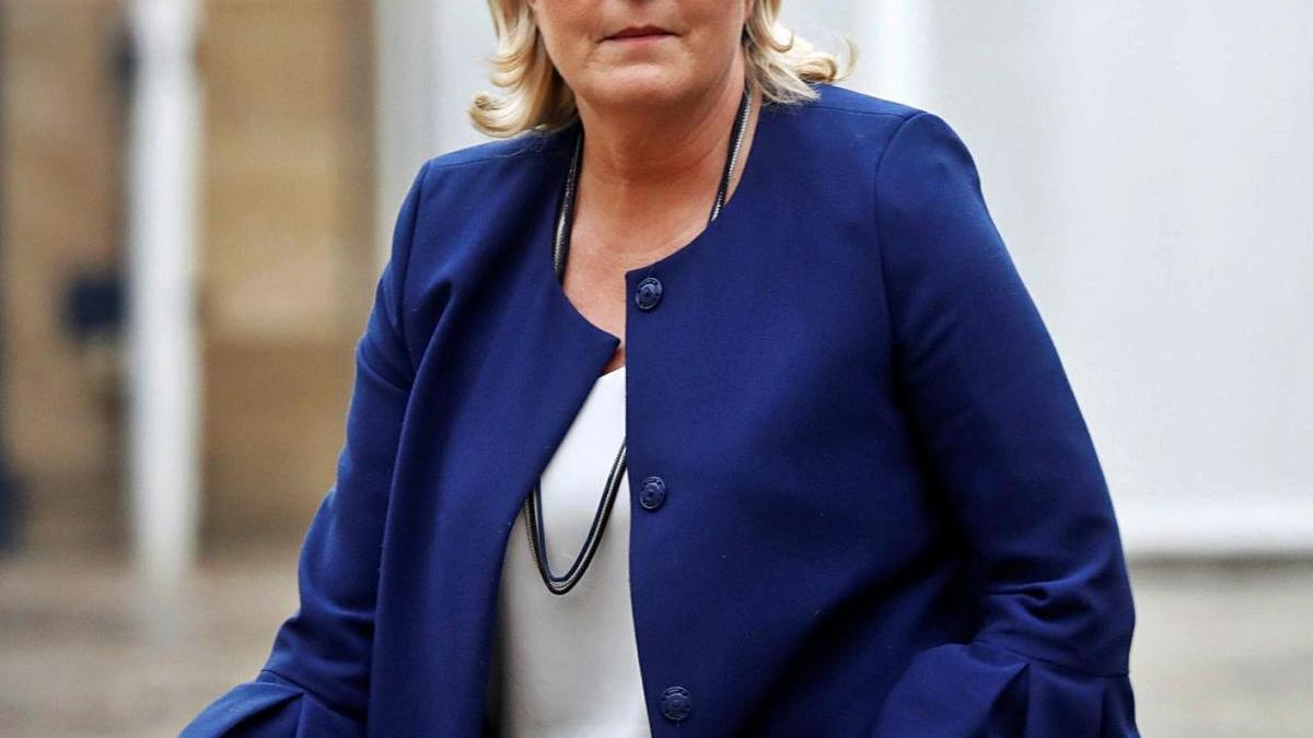 Marine Le Pen s'està allunyant de l'extremisme mostrat pel seu pare.