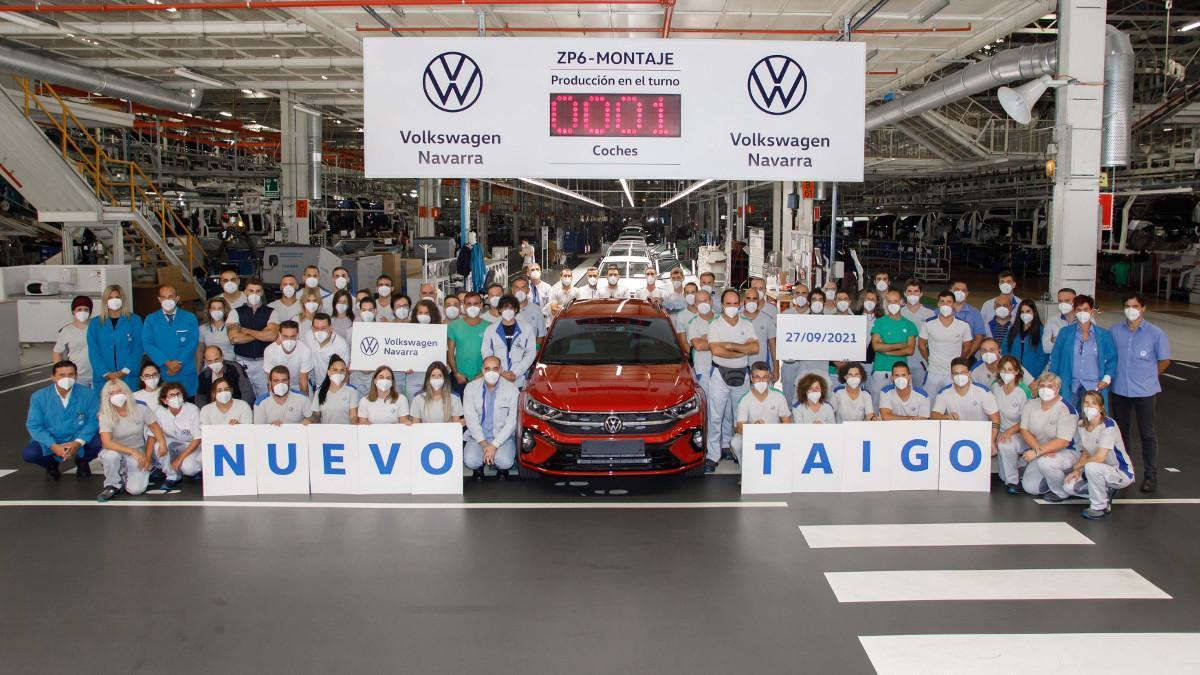 Volkswagen Navarra inicia la producción del nuevo Taigo para toda Europa