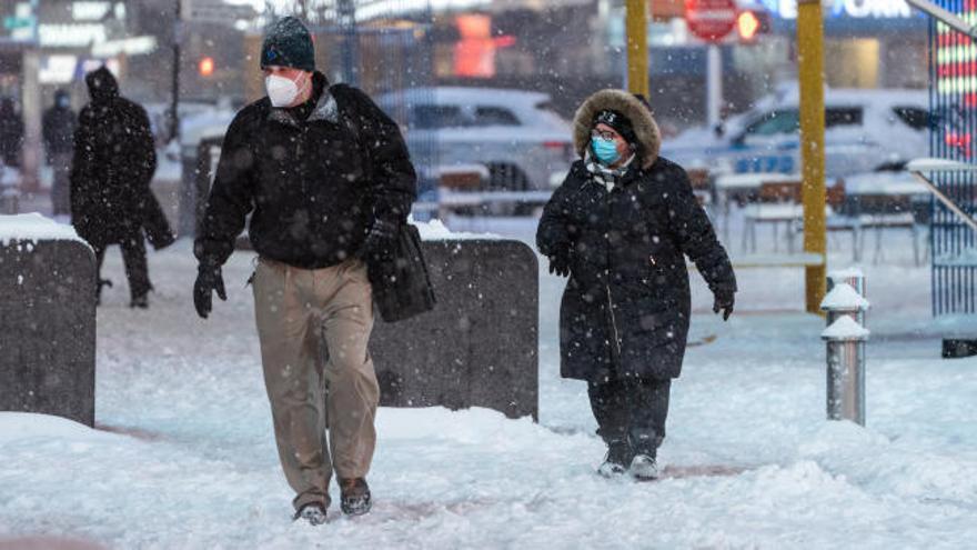 Un temporal de nieve amenaza con paralizar Nueva York