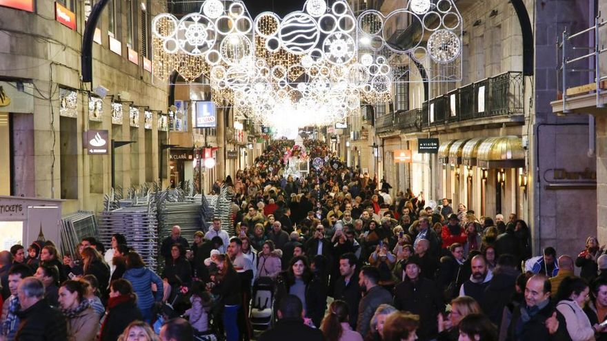 ¿Cuánto aporta cada vigués al alumbrado de la Navidad en Vigo 2021?