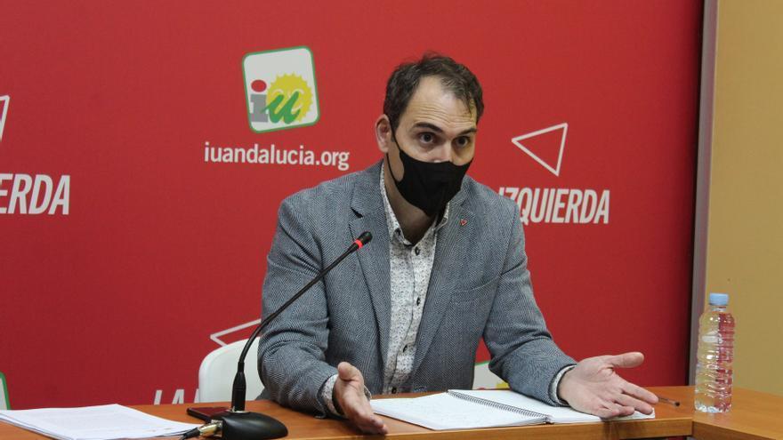 Valero (IU) no descarta futuros pactos electorales con el PSOE-A
