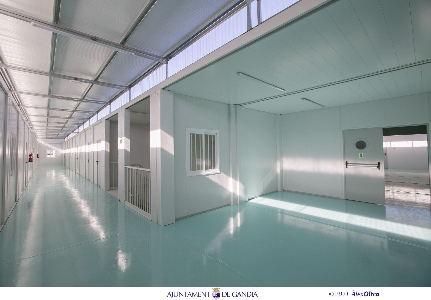 Las aulas prefabricadas del IES Ausiàs March de Gandia