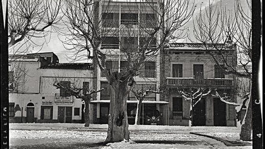 Roses escull com a document del mes una foto de la nevada de 1962