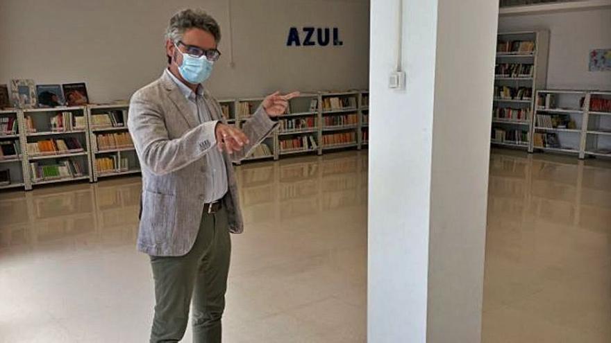 La biblioteca municipal de Espinardo estrena medidores de dióxido de carbono