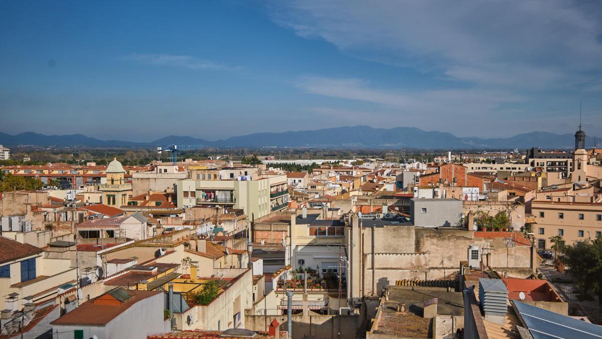 Vista panoràmica de la ciutat de Figueres.