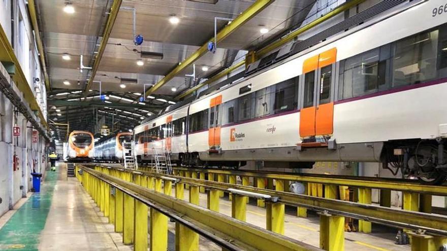 Foment planifica crear un  taller per als trens de Renfe a l'estació de Manresa